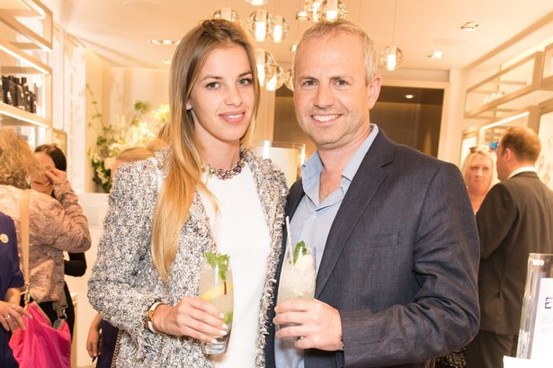 Lingerie model dating Ocado $142Million (£100Million) boss. His wife's on the warpath ... the City's getting worried